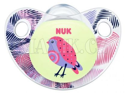 Nuk Dudlík Trendline Den a Noc silikon 0-6m - Pták