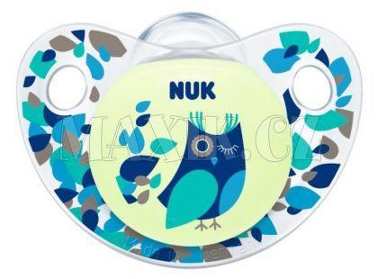 Nuk Dudlík Trendline Den a Noc silikon 0-6m - Sova