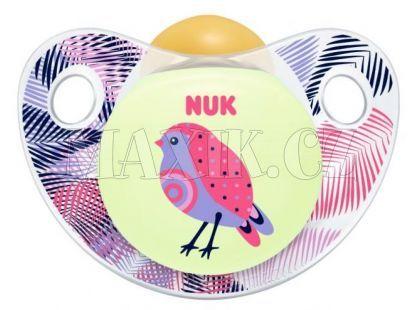 Nuk Dudlík Trendline Den/Noc latex 6-18m - Pták