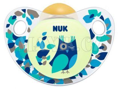 Nuk Dudlík Trendline Den/Noc latex 6-18m - Sova