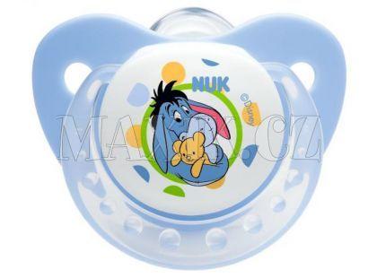 Nuk Dudlík Trendline Disney Medvídek Pú 0-6m - Modrý