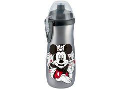 Nuk FC Láhev Sports Cup Disney Mickey 450ml SI Šedý, barevný Mickey Mouse