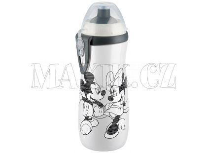 Nuk FC Láhev Sports Cup Disney Mickey 450ml SI - Bílá