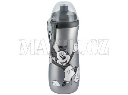 Nuk FC Láhev Sports Cup Disney Mickey 450ml SI - Šedá