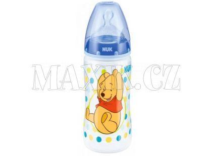 Nuk First Choice Láhev Disney Medvídek Pú 300ml - Modrá