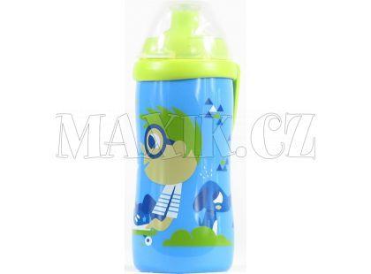 Nuk JC Dětská láhev 300ml - Modro-zelená