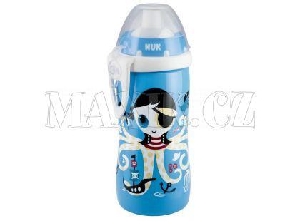 Nuk Láhev Flexi Cup 300ml - Modrá chobotnice