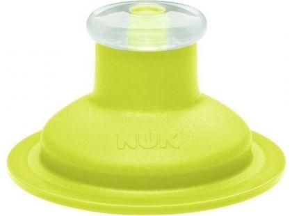 Nuk Náhradní silikonové pítko Push-Pull - Zelená