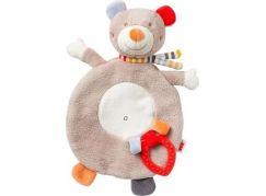 Nuk Plyšový mazlíček a kousátko - Medvídek