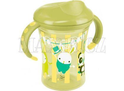 Nuk TC Hrnek na učení 2, 250ml - Žluto-zelený