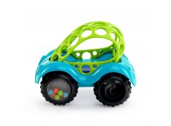 Oball Autíčko Oball Rattle a Roll Modro-zelené