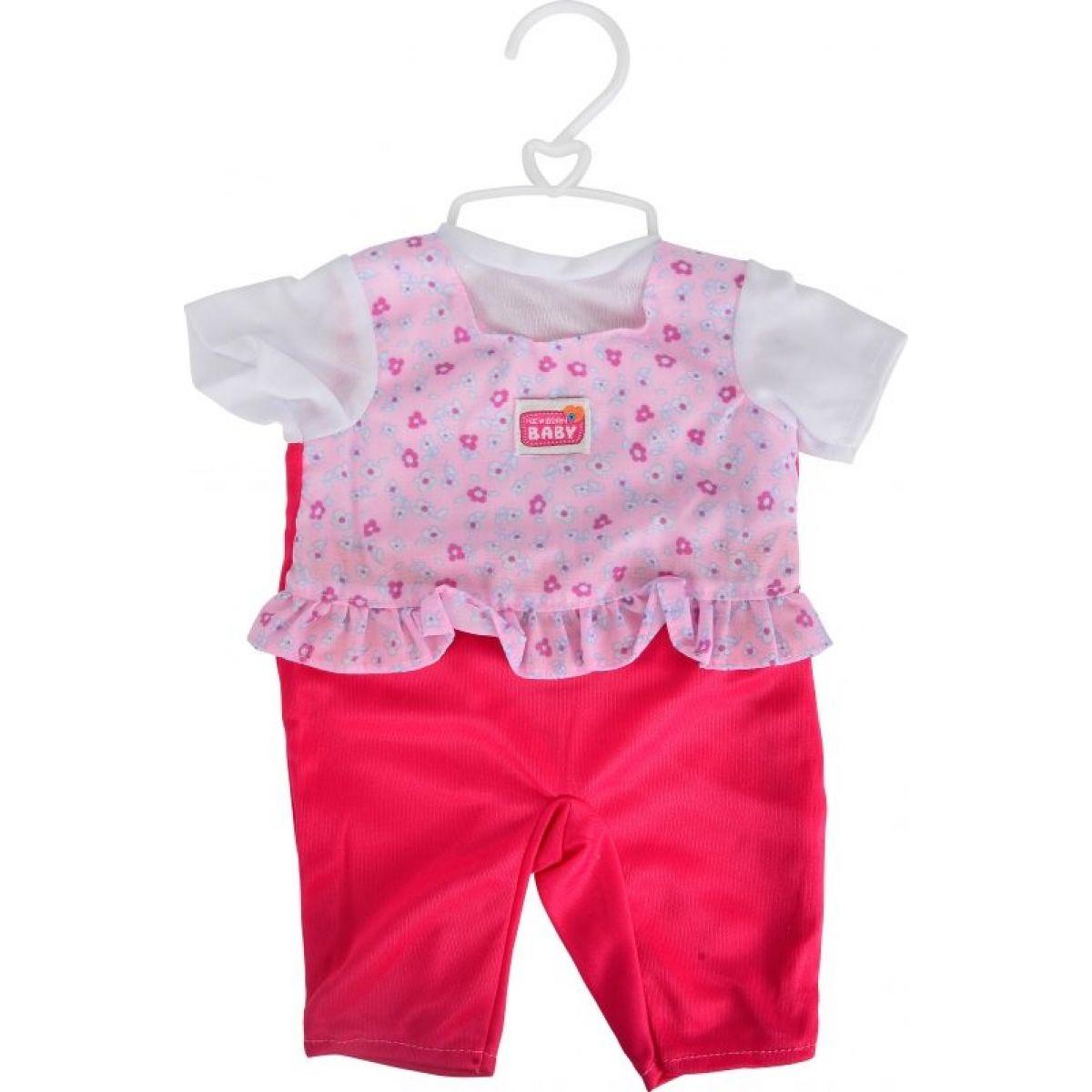 Oblečky na panenky - Červené nohavičky