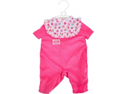 Oblečky na panenky - Růžové nohavičky