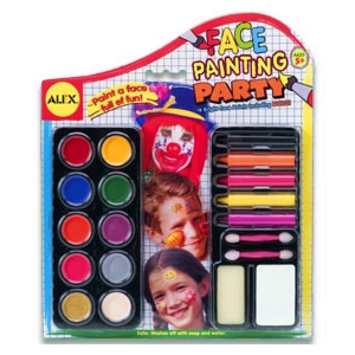 Obličejová barva