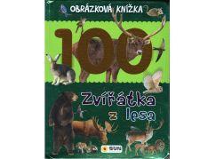Obrázková knížka Zvířátka z lesa