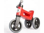 Odrážedlo červené Funny Wheels 2 v 1