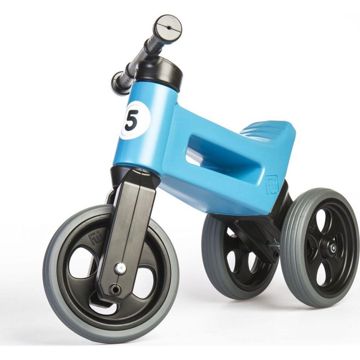 Odrážedlo modré Funny Wheels 2 v 1