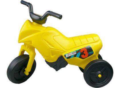 Odrážedlo motorka Enduro menší 150 - Žlutá
