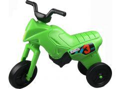 Odrážedlo motorka Enduro větší 151 - Zelená světlá