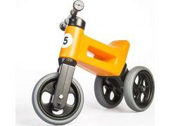 Odrážedlo oranžové Funny Wheels 2 v 1