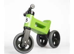 Odrážedlo zelené Funny Wheels 2 v 1