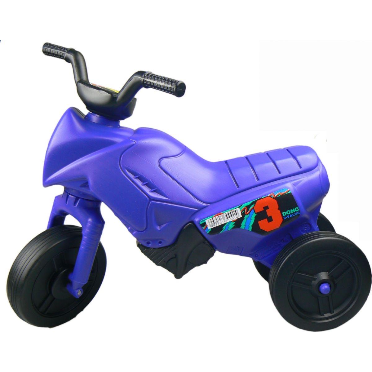 Odrážedlo motorka Enduro menší 150 Modrá tmavá