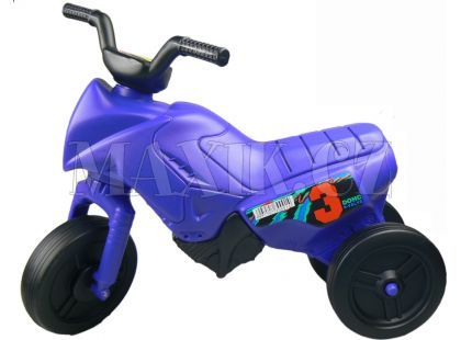 Odrážedlo motorka Enduro menší 150 - Modrá