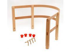 Ohrádka dřevěná na sáně dřevěná Praděd