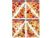 Okenní fólie rohová 38 x 30 cm, podzimní listí