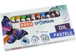 Olejové pastely EasyArt 12 ks