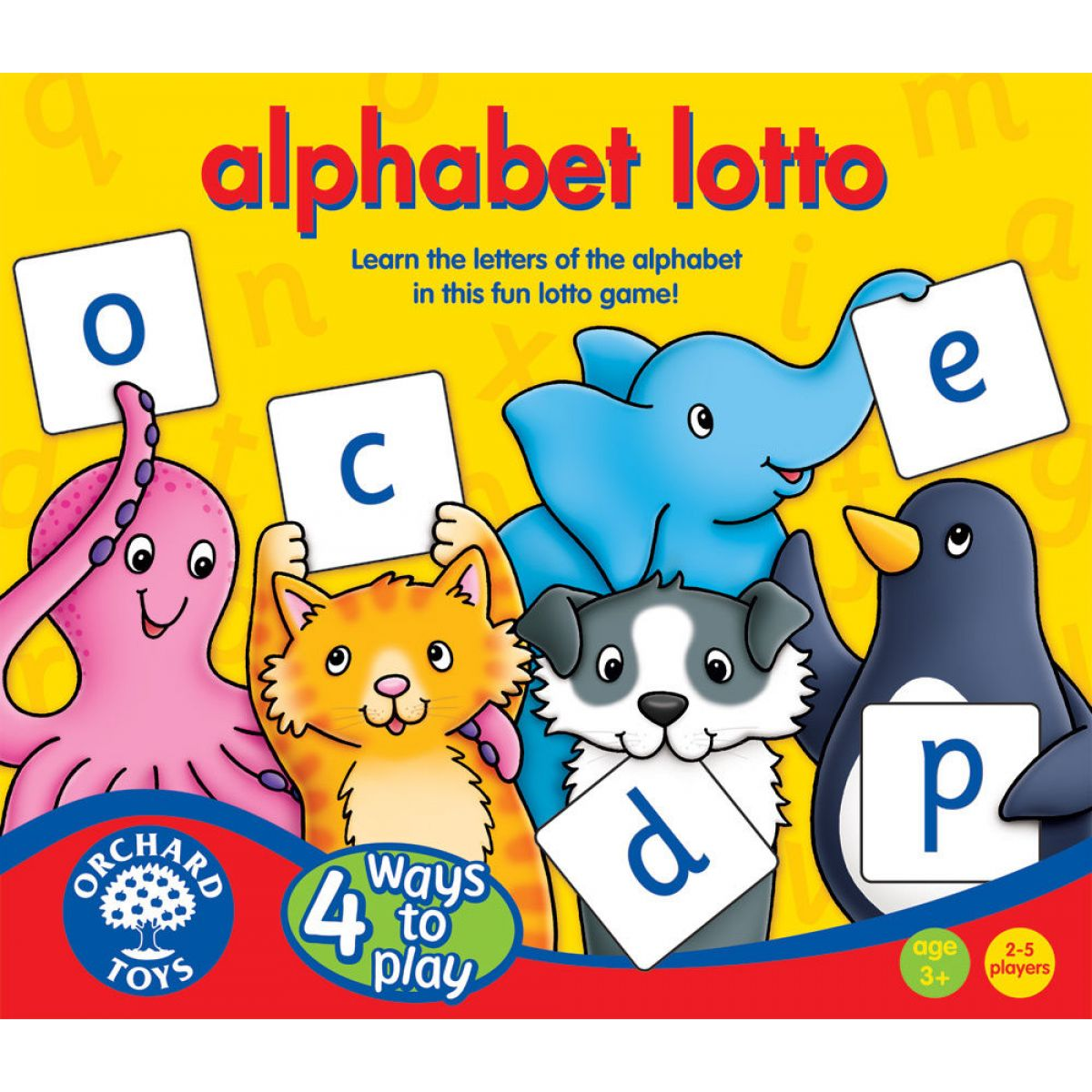 Orchard Toys Abeceda Lotto