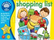 Orchard Toys Angličtina hrou Shopping list