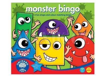 Orchard Toys Monster Bingo Obludárium