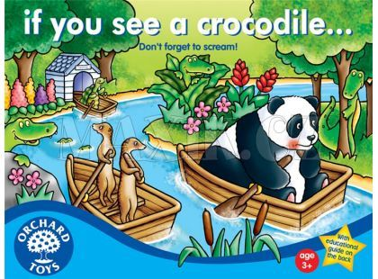 Orchard Toys Pozor Krokodýl!