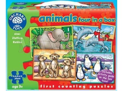 Orchard Toys Puzzle Animals 4 obrázky
