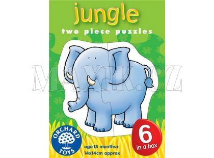 Orchard Toys Puzzle Džungle