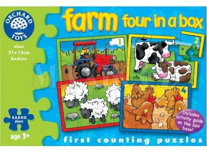 Orchard Toys Puzzle Farma 4 obrázky