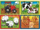 Orchard Toys Puzzle Farma 4 obrázky 2