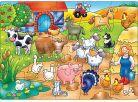 Orchard Toys Puzzle Kdo žije  na farmě? 20dílků 2