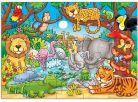 Orchard Toys Puzzle Kdo žije v džungli? 25dílků 2