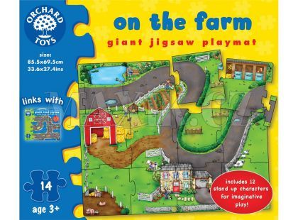 Orchard Toys Puzzle Na farmě 14dílků