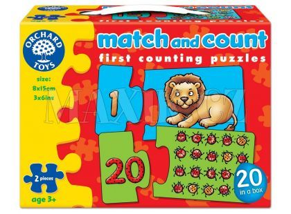 Orchard Toys Puzzle Počítej a přiřaď obrázek
