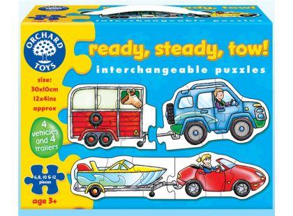 Orchard Toys Puzzle Připravit, vyrovnat a odtáhnout!