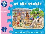 Orchard Toys Puzzle Ve stáji 75dílků