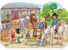Orchard Toys Puzzle Ve stáji 75dílků 2