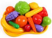 Ovoce a zelenina s podnosem plast v síťce 16 ks