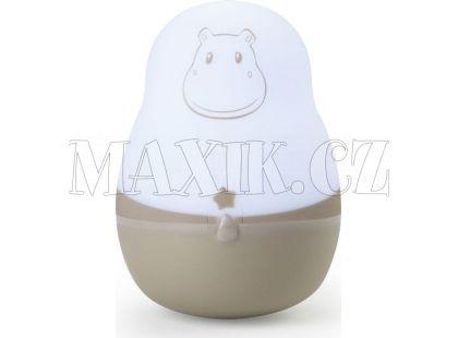 Pabobo Automatické světlo Super Nomade Beige Hippo