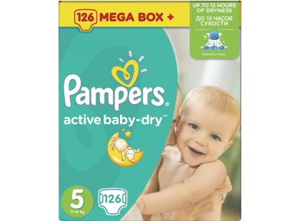 Pampers Active Baby 5 Junior 126ks