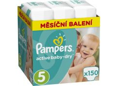 Pampers Active Baby 5 Junior 150ks