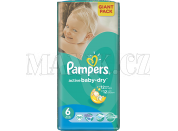 Pampers Active Baby 6 Extra Large 56ks - Poškozený obal